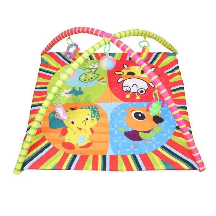 Развивающий коврик для малышей Fun Baby Fitness frame