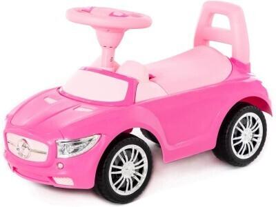 Машинка Полесье розовая