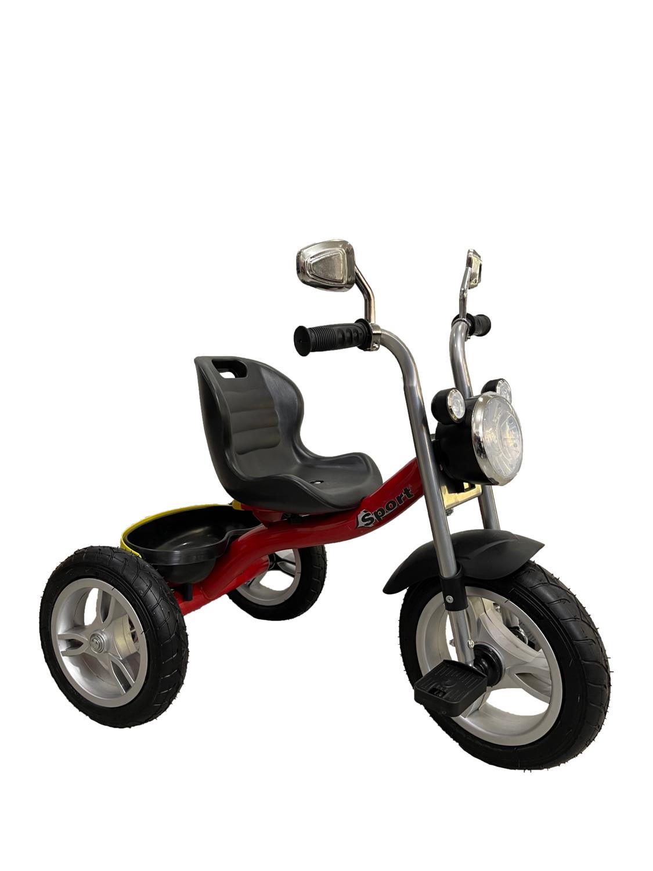 Трехколесный велосипед с фарой Sport