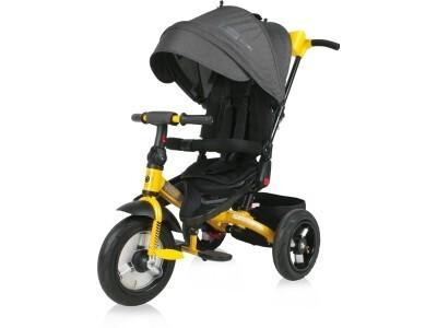 Велосипед Lorelli Jaguar Air 2101 черный-желтый