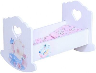 Кроватка для кукол Котёнок