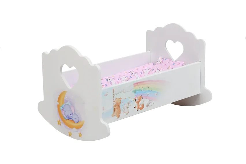 Кроватка для кукол Слонёнок