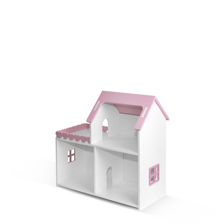 """Кукольный дом """"Мини"""" (Бело-розовый)"""