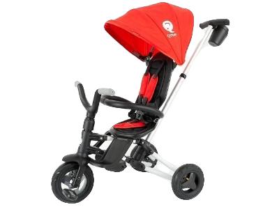 Велосипед QPLAY Nova Rubber 33695 красный