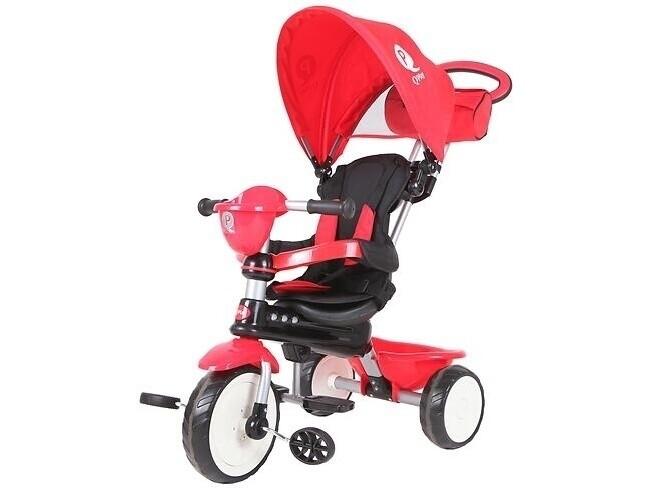 Велосипед QPlay Comfort 33685 красный