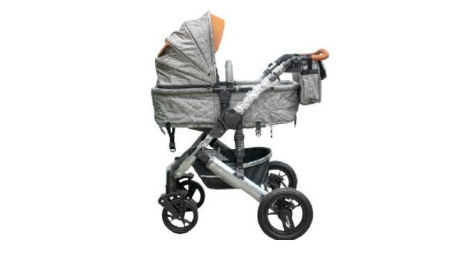 Коляска Teknum 2в1 708/1 серый