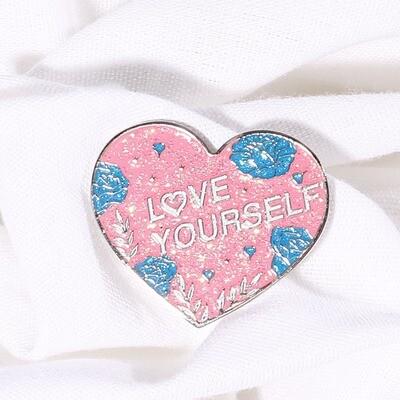 Love Yourself Enamel Pin