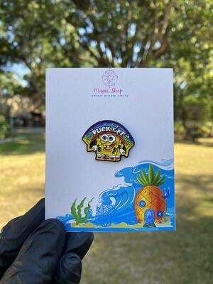 Spongebob Enamel Pin