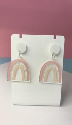Pastel Rainbow Earrings