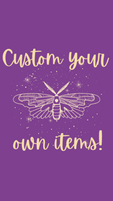 Custom Trinket Dish - Colours & Images