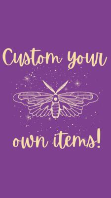 Custom Trinket Dish - Colours only