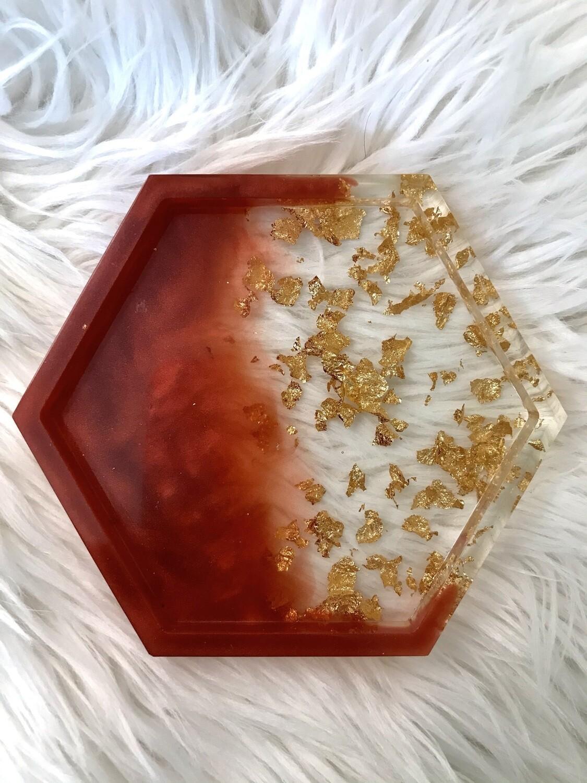 Red & Gold Trinket