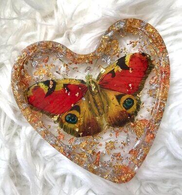 Butterfly Gold Flake Trinket