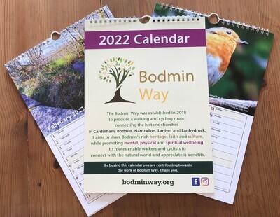 Bodmin Way Calendar for 2022