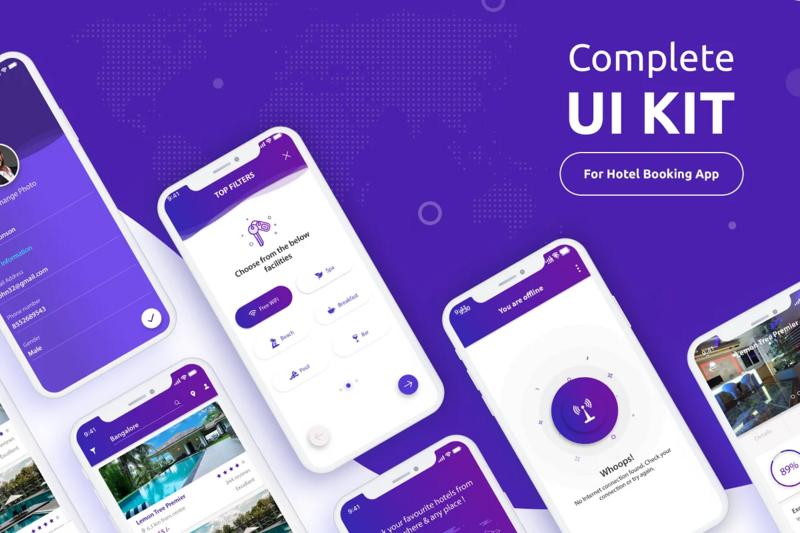 Hotel Booking UI Kit