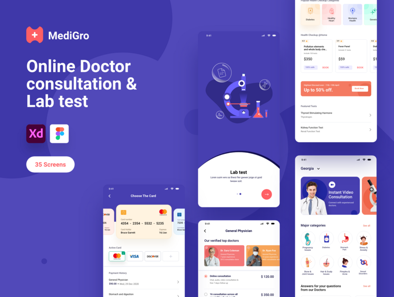 Doctor Appointment - Complete UI Kit