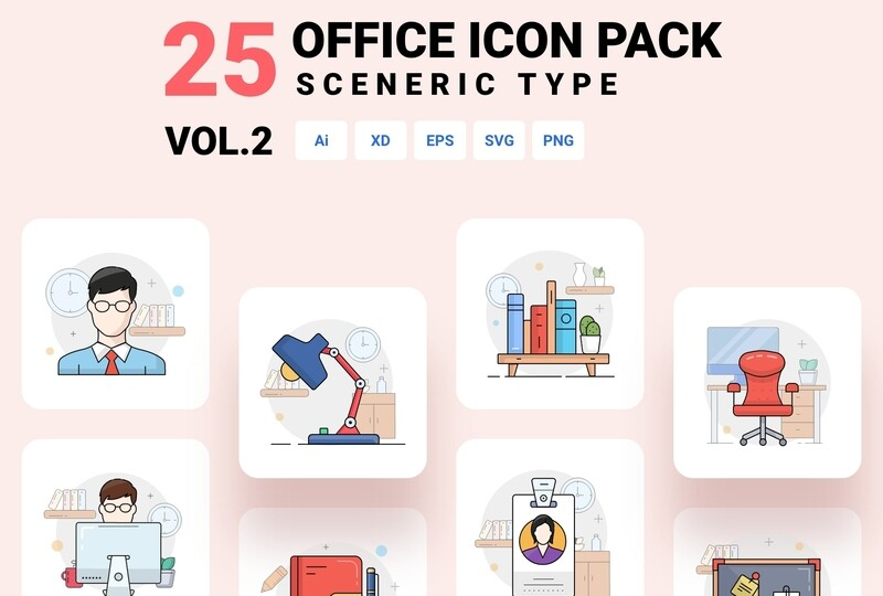 Office icon pack - Vol. 2