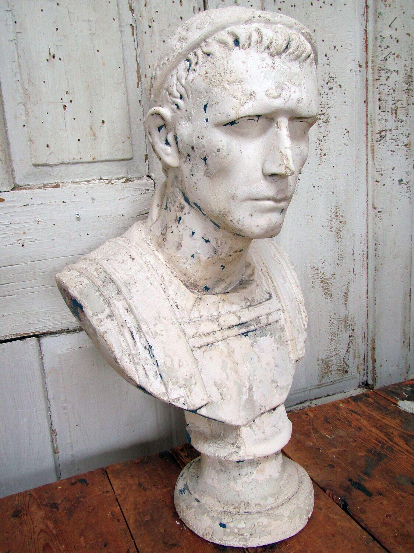 Roman bust male