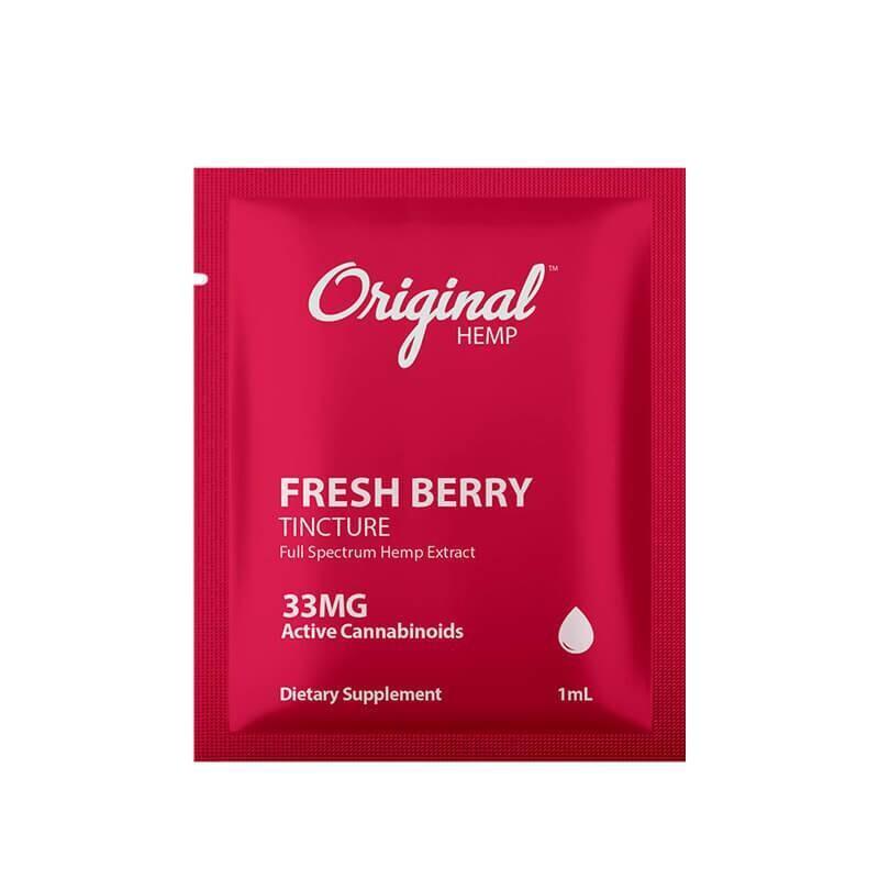 Original Hemp - CBD Tincture - Fresh Berry - 33mg