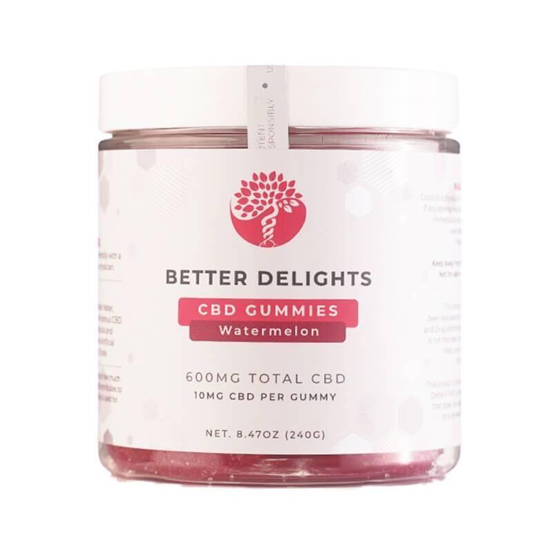 Creating Better Days - CBD Edible - Watermelon Gummies - 300mg-600mg