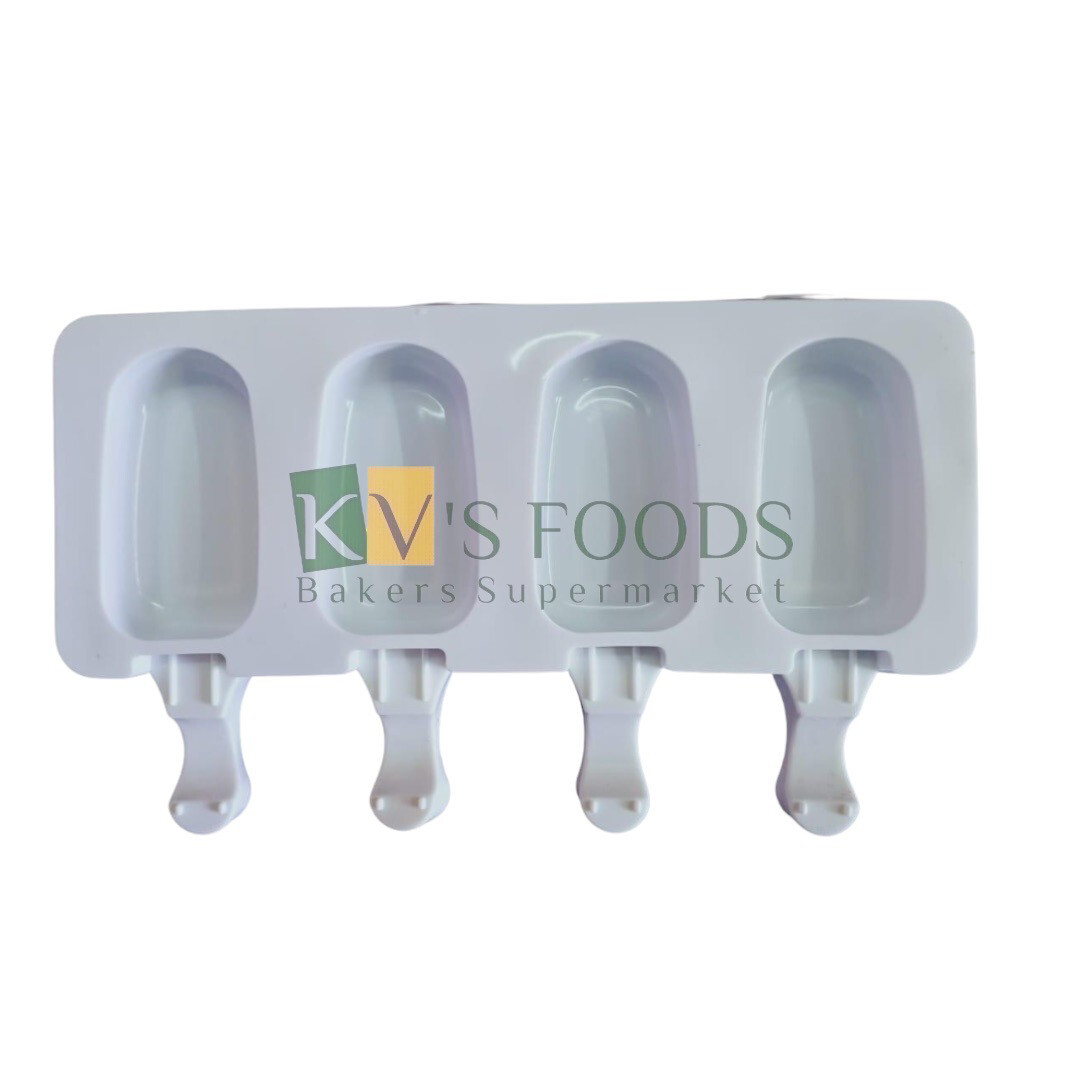 4 Cavity Cakesicle, Popsicle, Ice Pop Silicon Mould