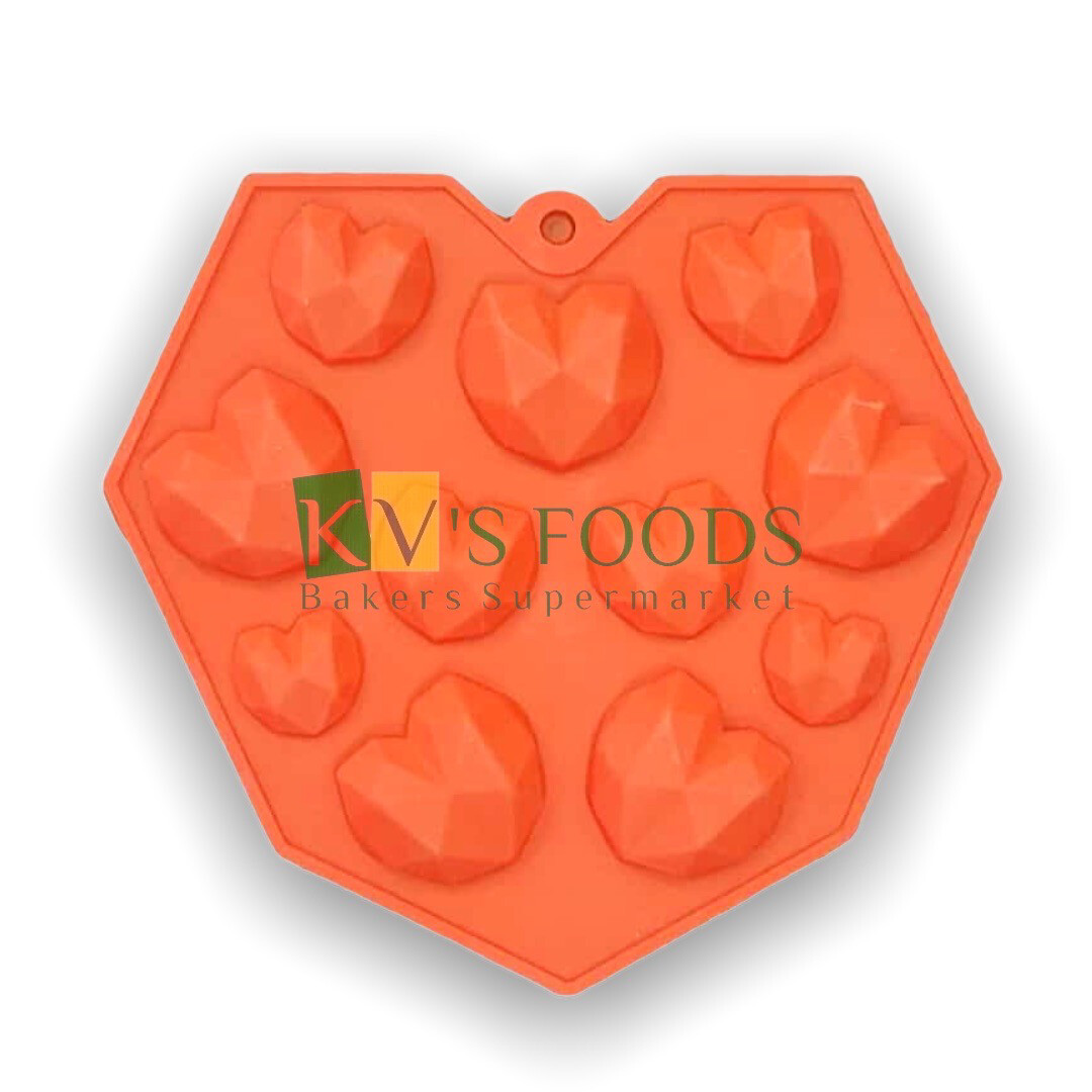 3D Heart Chocolate Mould