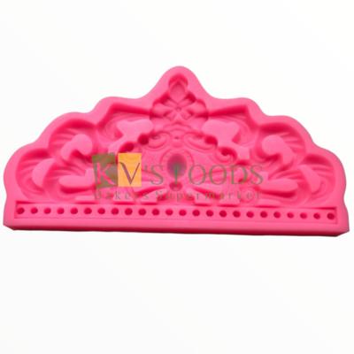 Big Crown Fondant Silicon Mould, Suitable for Fondant & Gum Paste