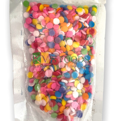 Multicolored Sequin/ Disc Edible Confetti Sprinkles for Cake and Dessert Decoration