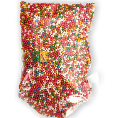 Multicolored Balls Small Edible Confetti Sprinkles for Cake and Dessert Decoration