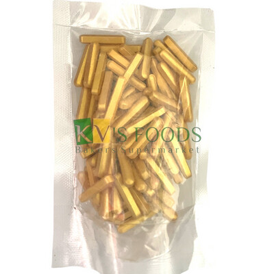 Metallic Gold Roads Edible Confetti Sprinkles for Cake and Dessert Decoration