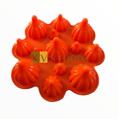 Modak Chocolate Silicon Mould Different Sizes