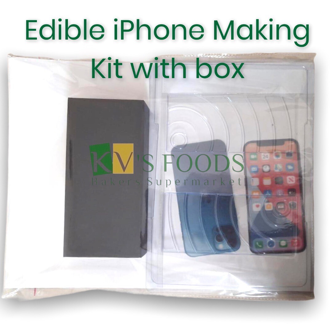 Chocolate iPhone Making Kit With Box