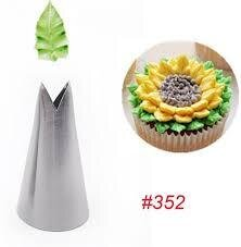 Icing Pipping Leaf Cake Nozzles Similar (Tips) No.45