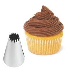 Icing Pipping Cake Nozzles Similar No.14 [10 Star]