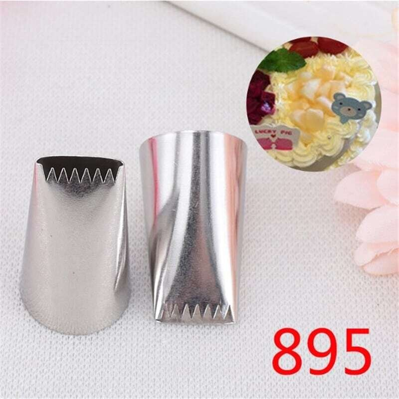 Basket Weave Design Icing Piping Nozzle Cake Decoration Tool