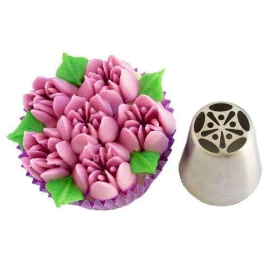 Big Russian Icing Piping Spring Tulip Nozzle No. 11 Cake Decorating Tools