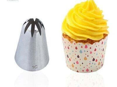 1C Stainless Steel Large Size Icing Piping Nozzle