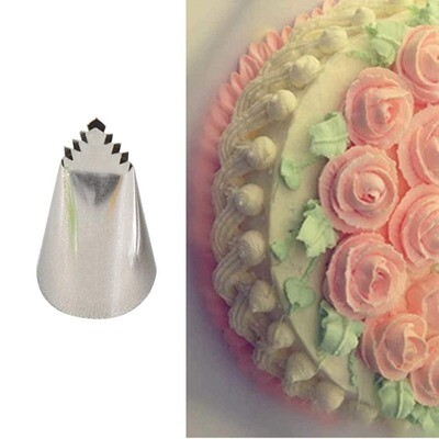 Icing Cake Nozzles No.95 Leaves Tube Tip