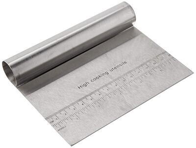 Stainless Steel Scraper 8 Inch Long Cake Tool