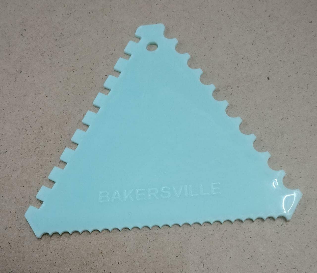 Finedecor Triangle Comb Scraper Fd2231 Cake Decoration Tools