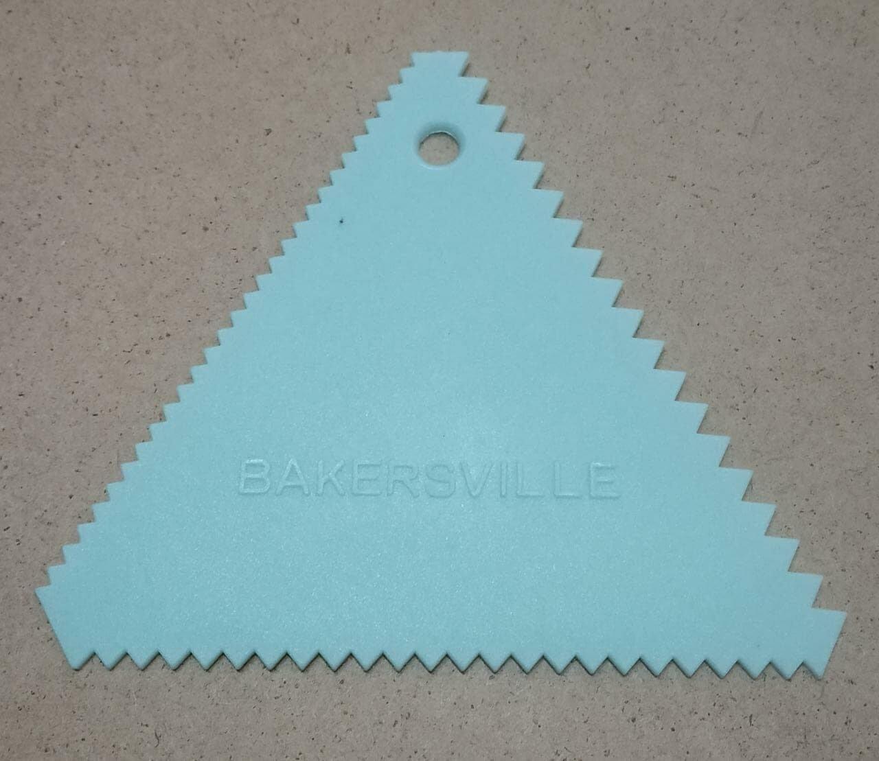 Finedecor Triangle Comb Scraper Fd2232 Cake Decoration Tools
