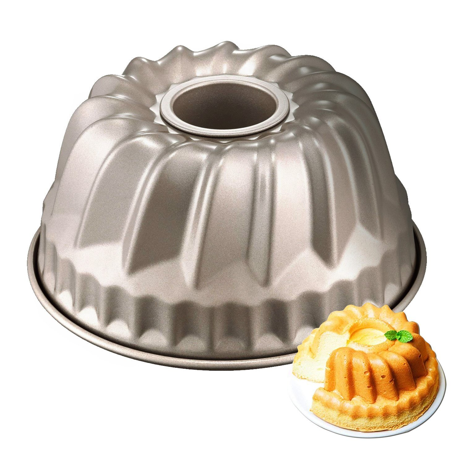 6 Inch Non-stick Bunt Jelly Pudding Cake Pan Mould