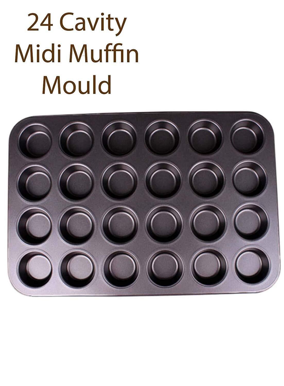 24 Cavity Non-stick Midi Muffin Baking Tray
