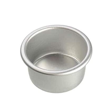 4 Inch X 2 Inch For Bento Cake Aluminum Round Cake Mold Tin Pan For