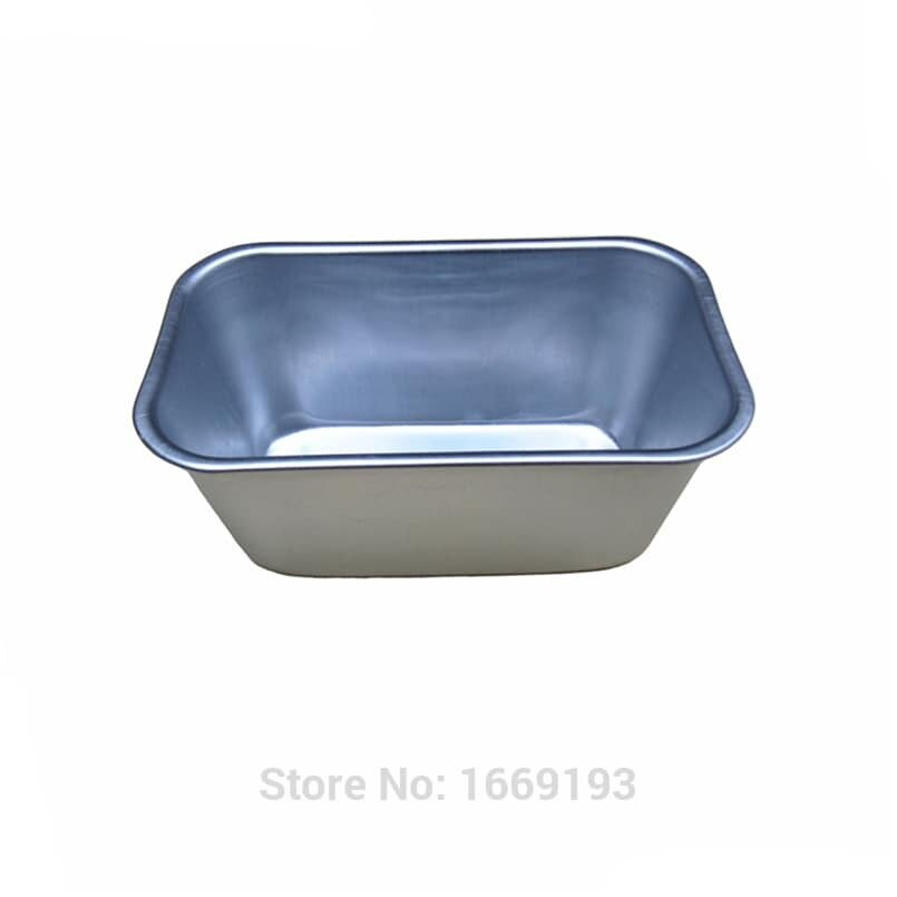 9.5 Cm X 16 Cm Aluminum Imported Cake Bread Jelly Pudding Cheese Small Mold