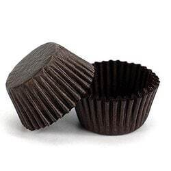 7 Cm 100 PCs Brown Ferrero Rocher Chocolate Paper Cup Cake Tools