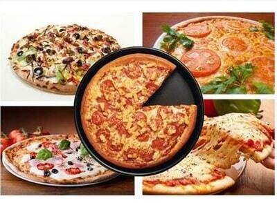 10 Inch Plate Non-Stick Pizza Pan Dish Thali