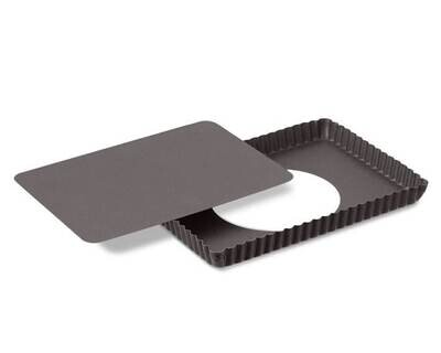 8 X 12 Inches Rectangle Shape Nonstick Pie Pizza Dish Pan Cake Tools