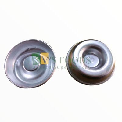 Set Of 6 Small Aluminum Doughnut Mould