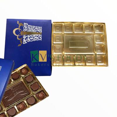 Occasion Box - 15 Cavity Box With One Bar Chocolate Cavity Set of 10